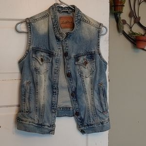 Vintage Levi's Sleeveless Denim Jacket/Vest Med 8